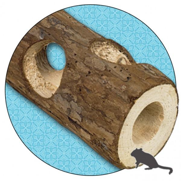 Woodland Holzröhre klein